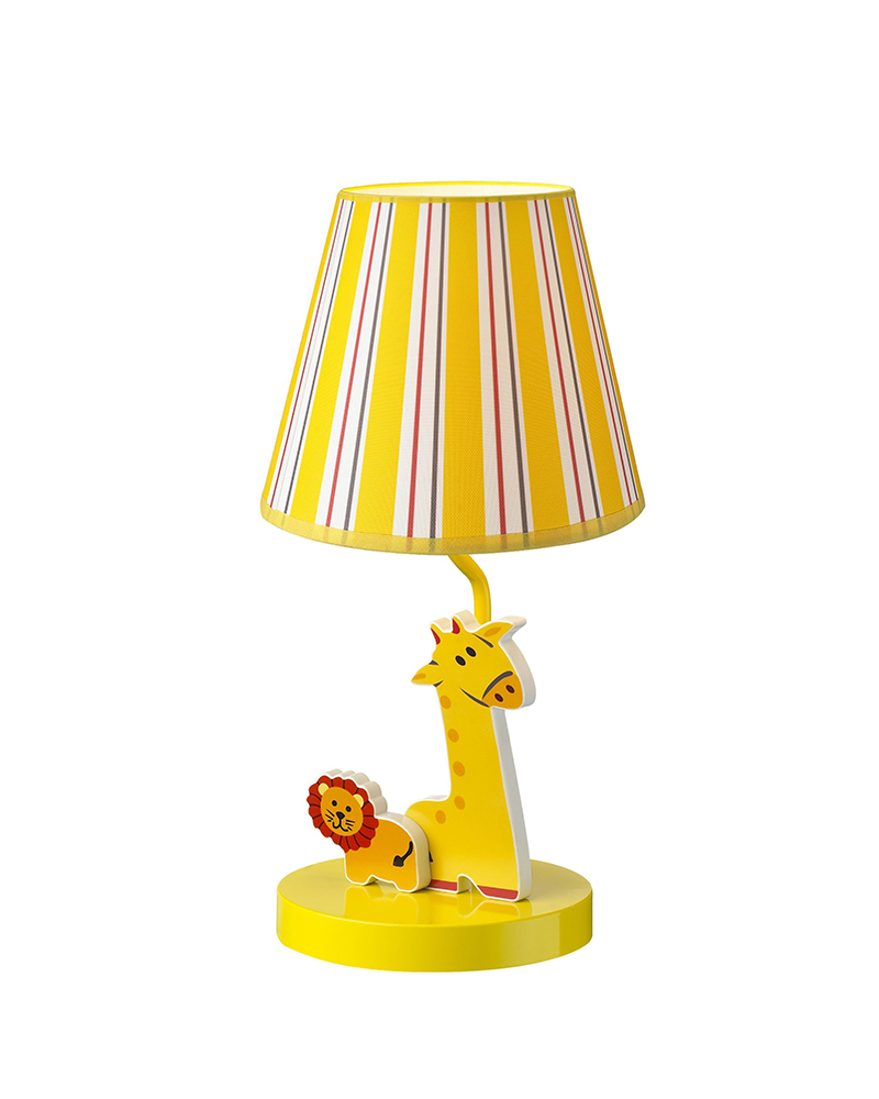 kids lamps lion giraffe theme table lamp children light