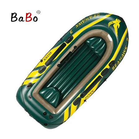 P10 3 People 295*137*43 Thickening Inflatable Boat Rubber Boat Fishing Kayak PVC Hovercraft Air-Cushion Vessel HT003(China (Mainland))