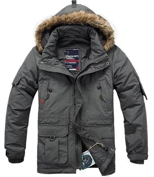 2012 New Winter Men's Down Coat Fashion Casual Warm Jecket Medium-long Bags Clothing Thickening Plus Size Free Shipping / S-4XL