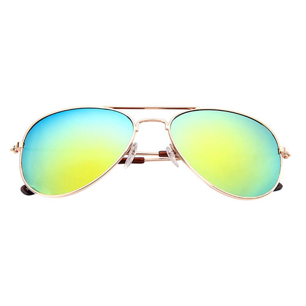 Bambini Ragazzi Ragazze Bambini rettangolare classico finitura a specchio Occhiali da sole UV400 UK