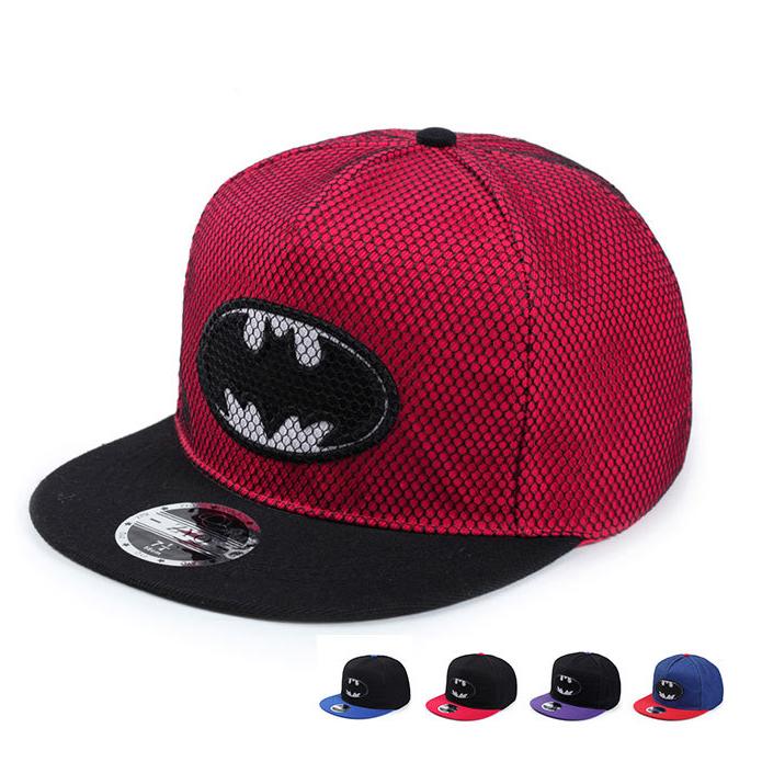 2016 New Fashion Summer Brand Batman Baseball Cap Hat For Men Women Casual Bone Hip Hop Snapback Caps Sun Hats Free Shipping(China (Mainland))