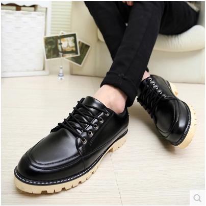 2015 style nouvelle angleterre dr v ritable en cuir martin bottes casual chaussures hommes. Black Bedroom Furniture Sets. Home Design Ideas