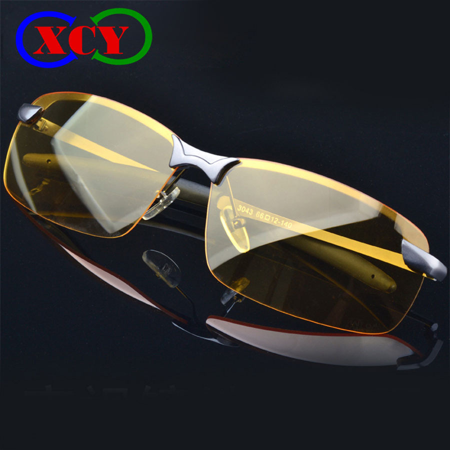 Special offer Sale New 2015 Men Brand Night Vsion Driving Glasses Goggles car Reduce Glare Polarized Driving Sunglasses YJ020(China (Mainland))