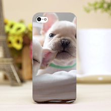 pz0012-22 little dog Design Customized cellphone transparent cover cases for iphone 4 5 5c 5s 6 6plus Hard Shell