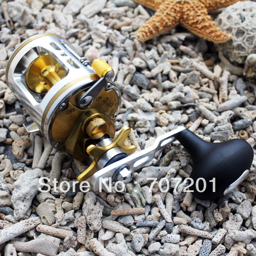 Spinning Fishing Baitcasting Reel 5+1 Ball Bearings CT320 5.1:1