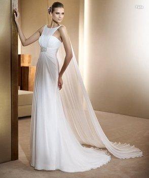 100% guaranteed wedding dress,Lhui 1230m sleeveless type ,floor-length accept
