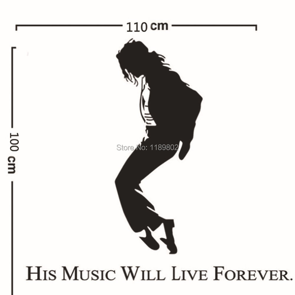Michael Jackson Wallpaper For Bedroom Sticker Boy Picture More Detailed Picture About Hot Michael