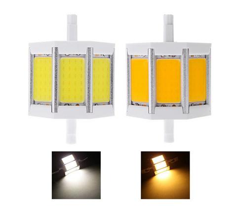 5W 10W 85-265V AC 3 LED R7s 78mm 118mm COB Lighting Replace Halogen Lamp White Warm - lisa topseller's store