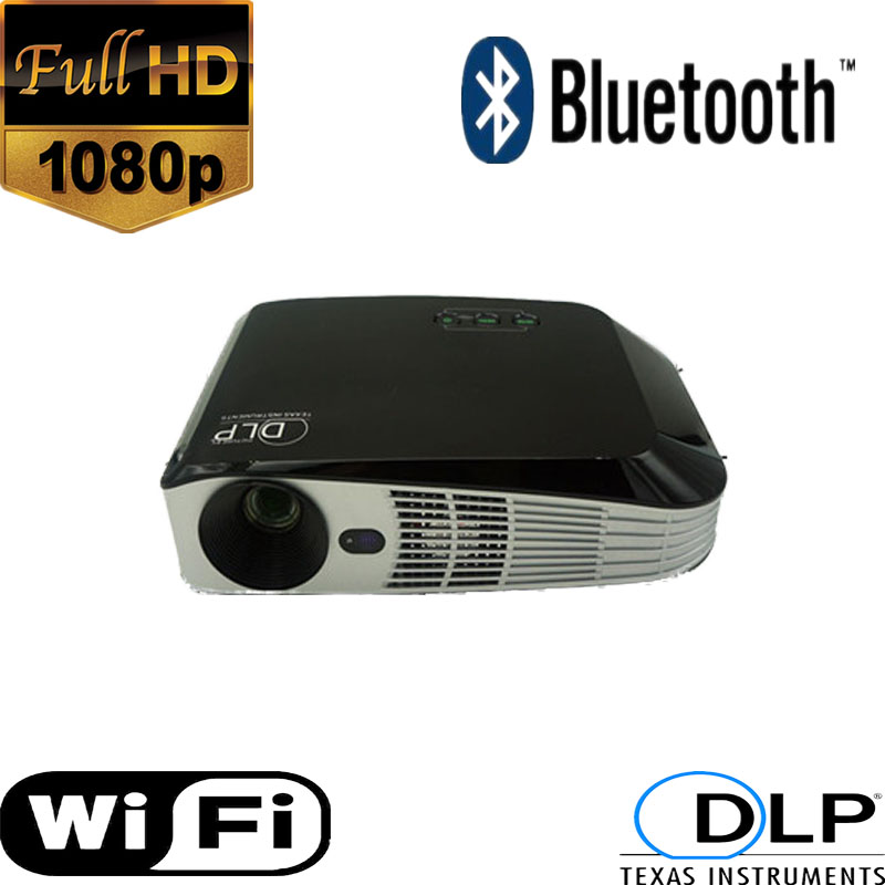 Brand New Projector with 4K chip imax 3D build in android4.4 system 7000lumens 1000to1500 ANSI lumens support 1080p HDMI output(China (Mainland))