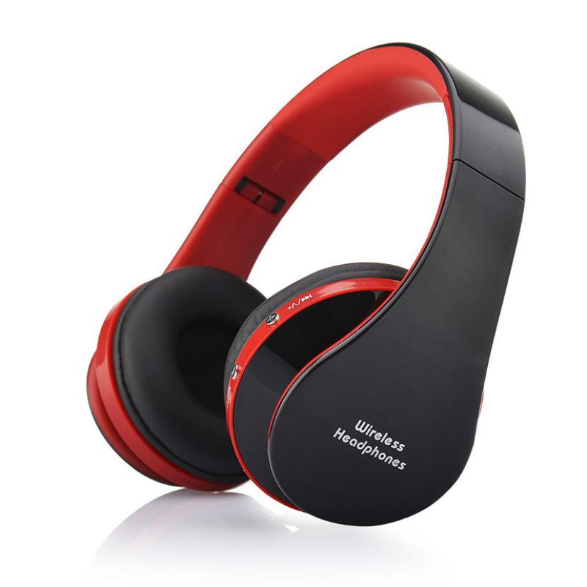 Adroit  Foldable Wireless Bluetooth Stereo Headset Handsfree Headphones Mic DEC16<br><br>Aliexpress