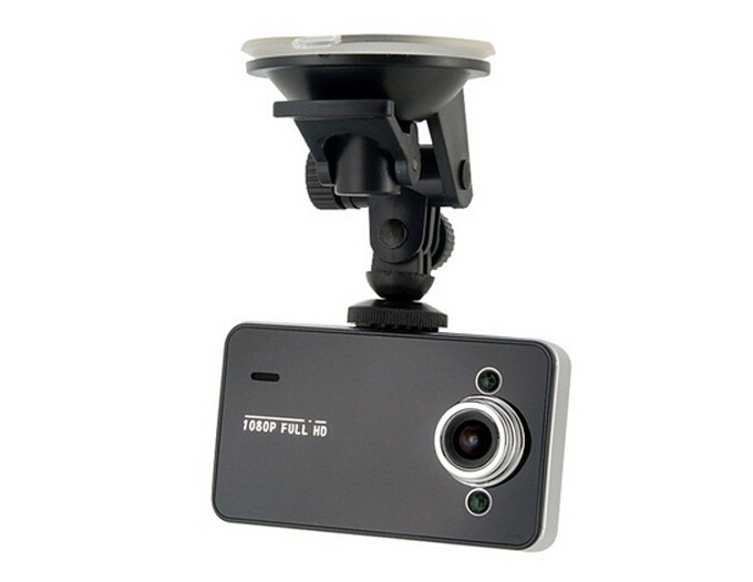 K6000PT Vehicle Black Box Car DVR Camera Video Recorder Driving With G-Sensor Black(China (Mainland))