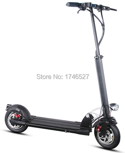 Buy 500w lithium battery 10 inch aluminum for Folding motorized scooter for adults