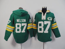 100% Stitiched,Green Bay Packer,Aaron Rodgers,eddie lacy,Clay Matthews Sweater hoodies,camouflage(China (Mainland))
