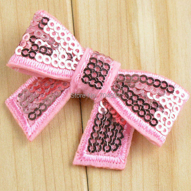 Luxurious and exquisite Embroidery Flash Sequined Bows Girls' Hair Accessories Headband Shoes Accessories 200pcs/lot HDJ14