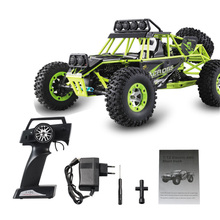 Buy High WLtoys 12428 Remote Control Car 2.4G 1/12 4WD Crawler RC Car LED Light RTR High Speed Drit Bike vehicle for $94.00 in AliExpress store