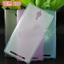 for Lenovo K80 Case Soft Slim TPU Gel Case for Lenovo K80M K80 P90 Mobile Phone Protective Cover Funda Capa Saso Sas Bag