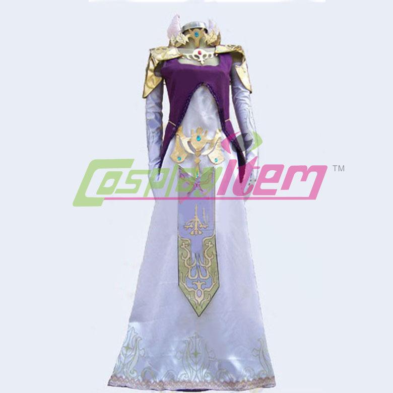 Custom Made movie The Legend Of Zelda Princess Zelda Commission Cosplay Costume