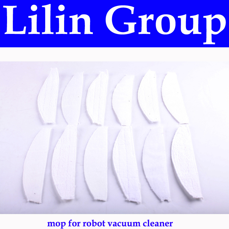 (For A320,A325,A335,A336,A337,A338) Mop for Robot Vacuum Cleaner, 12pcs/ pack,Household Equipment Parts(China (Mainland))