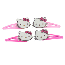 HOT SELLING 1 Pair Fashion Disne Hello Kitty Hairpins Children&Baby Hair Clips Multicolor Barrettes Jewelry FREE SHIPPING