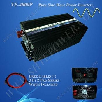 Frequency inverter 4000w free shippment (DC to AC input 12v/24v)