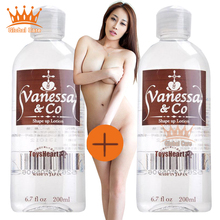 2 bottles genuine human Vanessa&Co a Lube anal sex lubricant masturbation vaginal intercourse hot adult toys Free shipping(China (Mainland))