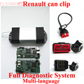 Instock V159 for Ren ault Can Clip Full Diagnostic System Multi language CANCLIP Full Chip Diagnostic