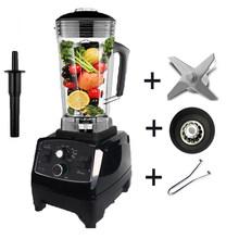 BPA Livre Temporizador Liquidificador Mixer Pesados da Classe Comercial Smoothies de Frutas Juicer Processador De Alimentos Triturador de Gelo Automático 2200W(China)