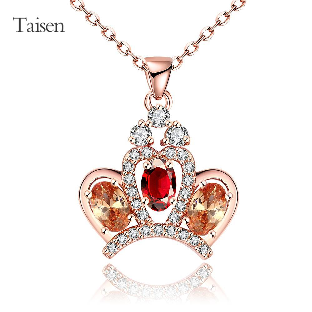 long necklace women sneakers matched rose gold necklace 2016 new heart pendants for lovers accesories for women jewelry(China (Mainland))