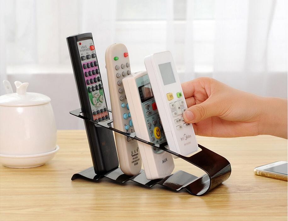 High Quality TV/DVD/VCR Remote Control Stand Holder Mobile Phone Holder Stand Storage Organizer For Home Tools(China (Mainland))