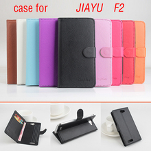 Jiayu F2 Case 5 inch Book Style Magnetic Flip Leather Case Cover for Jiayu F2 Wallet with Stand & Card Slots