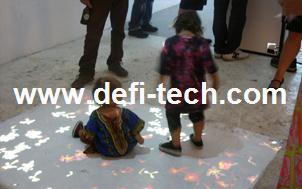 3D interactive projection display system, Interactive Floor projection system including 111 different effects for event,