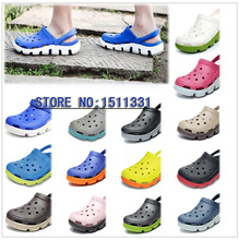 Hot new unisex men and women lovers amoi duet motion graphics splash clogs sandals, beach slippers(China (Mainland))