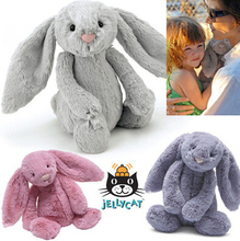 45CM/55CM/65CM Original Jelly Doll Bunny Rabbit with Tags and CE Kids Plush Toys and Gifts Colorful and More Size YZT0155(China (Mainland))