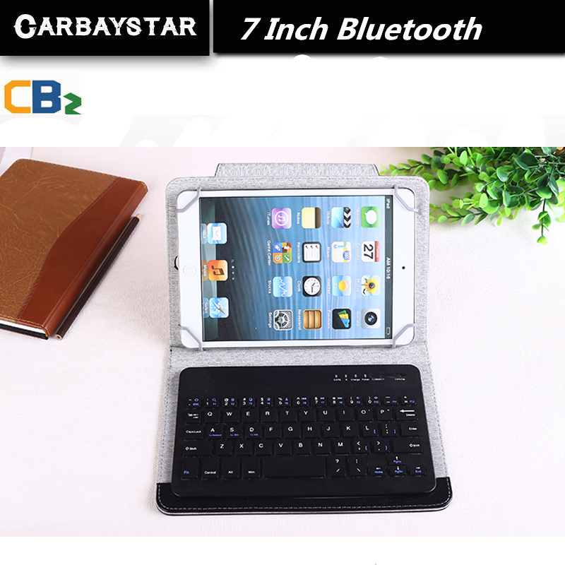 RUSSIAN Bluetooth KEYBOARD 7 inch tablet keyboard for Using Espana Language Leather Micro USB Keyboard to Plate Tablet Device(China (Mainland))