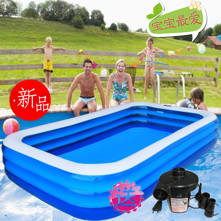 Popular rectangle inflatable pools buy cheap rectangle Square swimming pools for sale