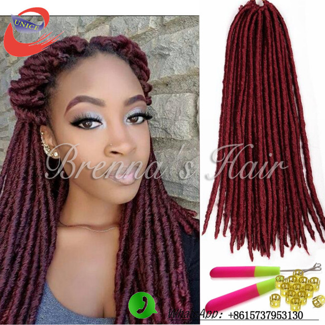 twist faux locs crochet braids hair extension crochet dreadlocks braid ...