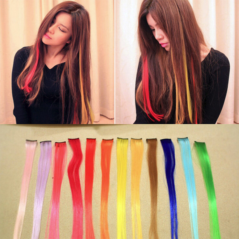 15 color 55cm New hair extension purchasing false hair high quality matte outlet temperature of 15 colors 1clip  braiding hair