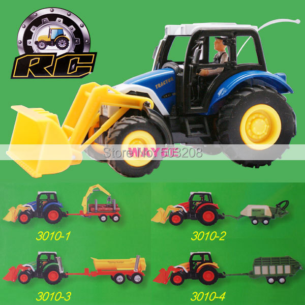 Remote Controlled RC Agricultural tractor Farm Bulldozer Tank Car 4 style(China (Mainland))