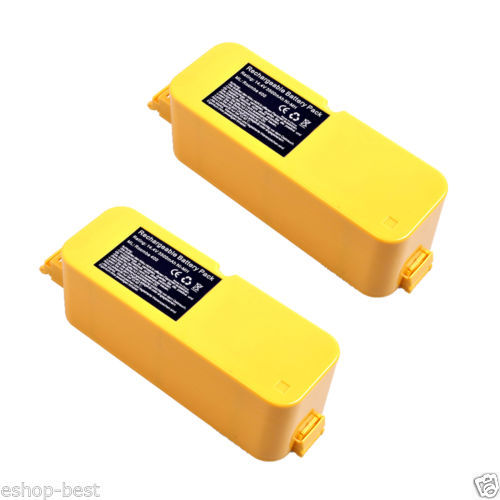 2x 3.5Ah Vacuum Cleaner Battery for iRobot Roomba 4905 4000 4130 4230 Discovery(China (Mainland))