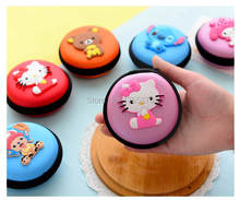 Cute Cartoon Candy Color Silicone Coin Purse Key Wallet Earphone Organizer Storage Box(China (Mainland))
