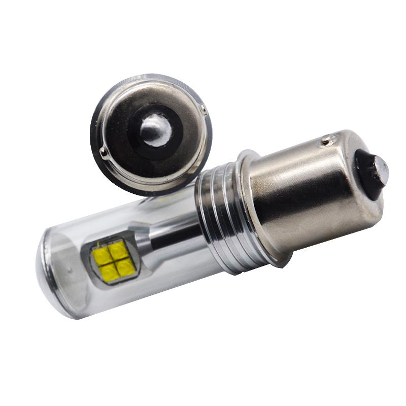 2X 1156 Ba15s Bau15s LED Car Front/ Tail Turm Signal Light Reverse Parking  Light Bulb DRL White Amber   Us5