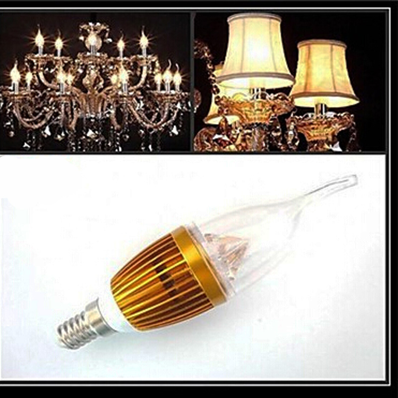 e14 3W White light SMD 250-300 LM CA35 led Candle AC 220-240 V Crystal lamp european Bulb lustre(China (Mainland))