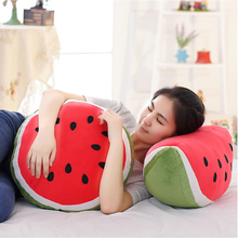 Hot Sale Fruit Plush Toy Plush Watermelon Pillow Creative Toy Doll Christmas Gifts Birthday Gift(China (Mainland))