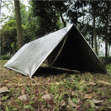 1Pcs Folding Tent Blanket Sleeping Bag Survival Outdoor Emergency Camping Shelter Free shipping