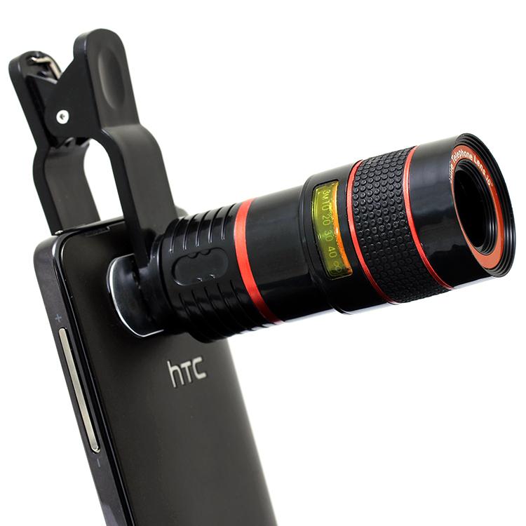Mobile phone 8 x zoom telephoto lenses samsungS6 huawei iphone5s 6 puls general external external camera phone telescope(China (Mainland))