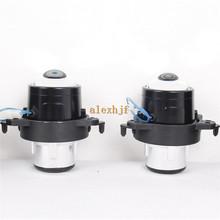 car bifocal fog lens, Front bumper lights bifocal lens assembly for Mercedes Benz A B C E CLS GL GLK M Class, high Quality