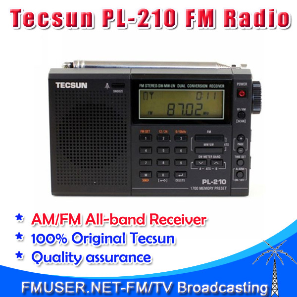 PL-210 PL 210 FM radio digital tuning Wide band full band stereo radio dual conversion receiver SW MW LW(China (Mainland))