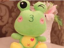 popular plush frog toy