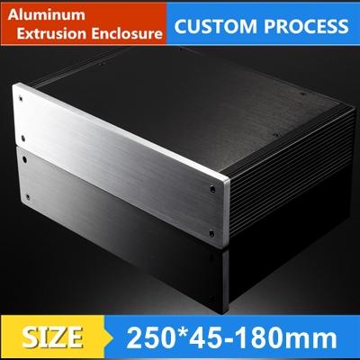 amplifier split amp DIY chassis aluminum profiles 250*45-180mm(China (Mainland))