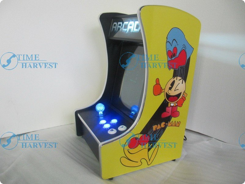 10.4 inch LCD Mini Table top Cocktail Machine With Classical games 60 in 1 Game PCB with Iluminated joystick and Round button<br><br>Aliexpress